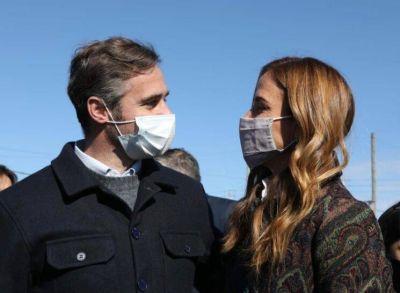 Achával acompañó a Fernández y Kicillof en el primer acto del Gobierno en campaña