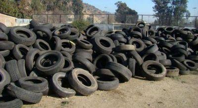 Aprueban un proyecto para reciclar neumáticos en desuso