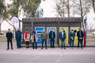 Inauguraron en Centenario una nueva estación de reciclado, el tercer Ecopunto en Neuquén