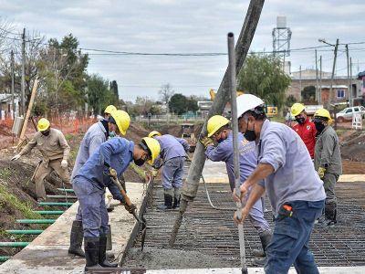 Entubamiento del arroyo Jimenez