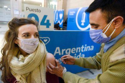 Pandemia: desde hoy pueden vacunarse mayores de 30 años sin turno previo