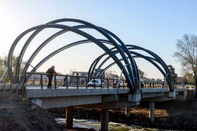 Schiaretti encabezará la inauguración del puente nuevo, prevista para el jueves