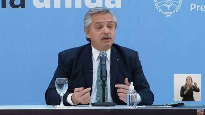 Las tres razones que alega Alberto Fernández para justificar su cambio de opinión y firmar la compra de 20 millones de dosis a Pfizer