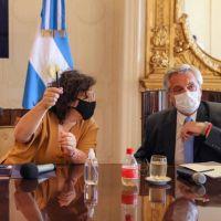 Alberto Fernández en alerta por la posible circulación comunitaria de la variante Delta en el país luego de un informe del Ministerio de Salud