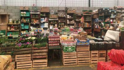 El Sodimac de Villa Tesei es ahora un mayorista de frutas y verduras
