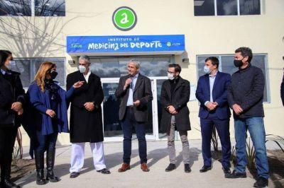 Ministros Ferraresi y Simone inauguraron ampliación de la Secretaría de Deportes y remodelación del Instituto de Medicina del Deporte de Avellaneda