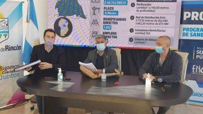 Licitan obra de provisión de agua potable en Rincón