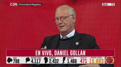 Daniel Gollan en C5N:
