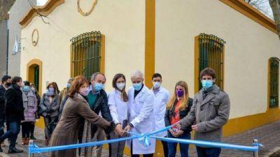 Juan Andreotti inauguró la ampliación del Hospital Oftalmológico Municipal