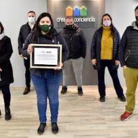 La Cooperativa Creando Conciencia de Tigre recibió un reconocimiento por su labor ambiental y su calidad integral dentro de la comunidad