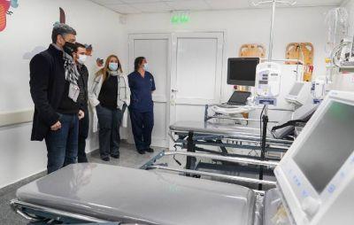 Vicente López planificó nuevas obras para el Hospital Houssay