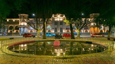 Obras en Córdoba: colocaron iluminación led en el CPC de San Vicente