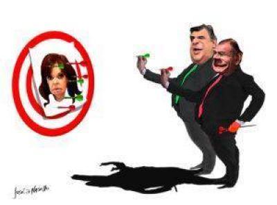 Negri y Juez eligieron rival: Cristina Kirchner
