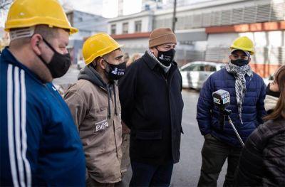 Entregan elementos de seguridad a cooperativa de trabajo