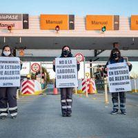 SUTPA: Trabajadoras y trabajadores de la empresa AUBASA se manifestaron por mejoras en las condiciones de trabajo y por una recomposición salarial acorde con la inflación