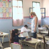 Un gremio pide que los docentes tengan las dos dosis