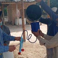 Comunidades y puestos criollos recibieron reservorios de agua