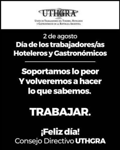 Día del trabajador/a del turismo, hotelero y gastronómico