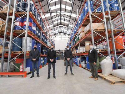 El apoyo de Florencio Varela a la exportación