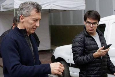 """La defensa de Nieto reconoció que su celular era """"la agenda diaria"""" de Macri"""