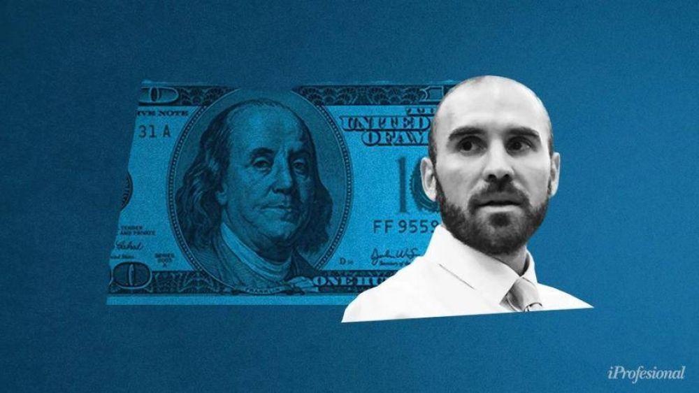Guzmán le puso techo al precio del dólar blue: el ministro no quiere que rompa esta barrera