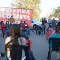 Se presentó una de la lista del Frente de Izquierda en Malvinas Argentinas