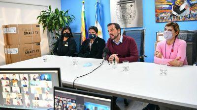 Sujarchuk encabezó el acto de lanzamiento de una nueva edición del curso de Lengua de Señas Argentinas