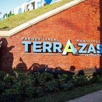 Ferraresi, Chornobroff y Sierra inauguraron el Parque Lineal Municipal «Terrazas de Croatto», en Avellaneda