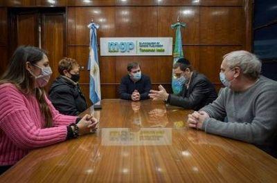 """Montenegro tras reunión con AMIA y SUIM: """"renovamos el compromiso para trabajar en conjunto""""."""