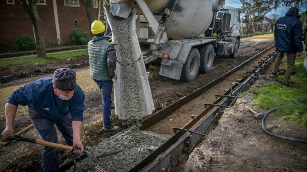 Dieron detalles de cómo se destinarán los 165 millones de pesos anunciados en obras de asfalto
