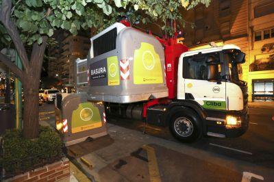 Recolección de residuos en la Ciudad: cómo trabajan las empresas de higiene urbana durante la noche