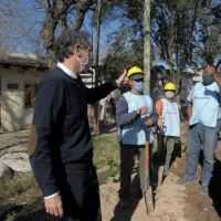 Katopodis recorrió e inauguró nuevas obras en Mercedes