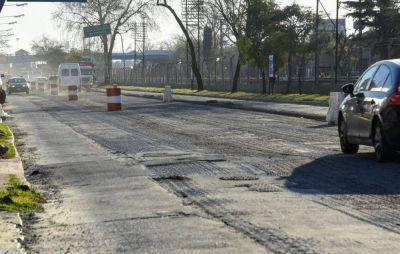 Recorrida por las obras de Avenida Rivadavia