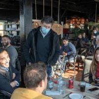 Posse se reunió con gastronómicos de San Isidro
