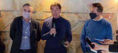 En modo campaña, Diego Santilli visitó Lomas de Zamora y propuso la reforma del Código Procesal Penal