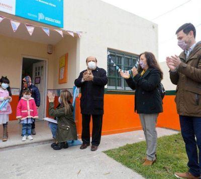 Mussi inauguró el Jardín de Infantes Nº 948 de Plátanos