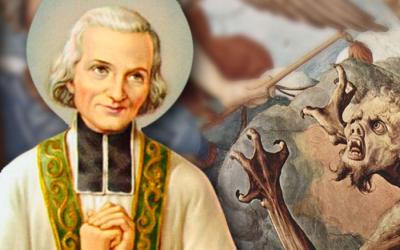 Diez enseñanzas que deja el Cura de Ars para luchar contra el demonio