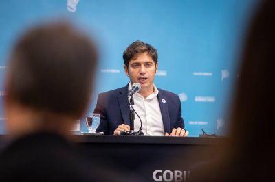 Axel Kicillof avanza con el primer paso para una reforma judicial