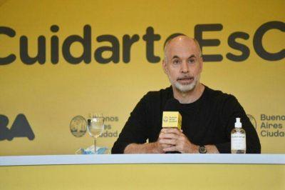 Rodríguez Larreta anuncia detalles sobre la combinación de vacunas en la ciudad de Buenos Aires