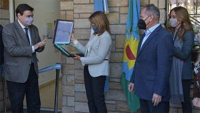 Moroni, Tolosa Paz y Descalzo inauguraron la Agencia Territorial Conurbano Oeste, en Ituzaingó