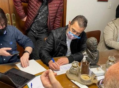 Galdurralde y Russo presentan la lista de unidad del peronismo de Lanús para las PASO