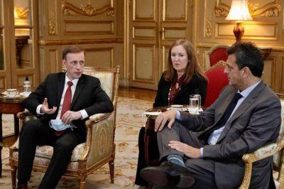 Cuatro asuntos geopolíticos que Sergio Massa trató en secreto con el asesor de seguridad nacional de Biden