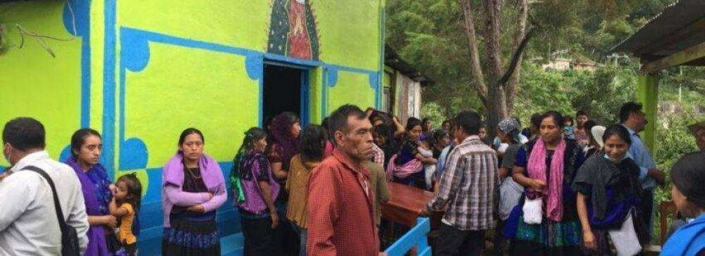 México: la Iglesia católica acompaña el regreso de indígenas desplazados en Chiapas