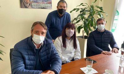 Karina Moyano sigue recorriendo la provincia de Buenos Aires para fortalecer el apoyo del CET al Frente de Todos de cara a las elecciones