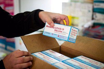 Arribaron 2.800 dosis de Moderna a Mar del Plata para iniciar la vacunación en adolescentes