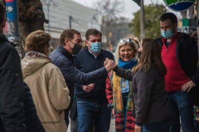 """Santilli con Carrió y Montenegro en Mar del Plata: """"Hay una decisión política del kirchnerismo de no abordar la inseguridad"""""""