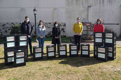 Provincia suma proyectos ambientales en Villa Mugueta y Bigand