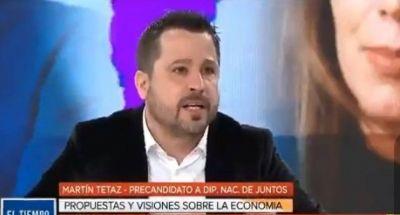 """Escandaloso: Tetaz aseguró que defender derechos laborales """"conduce al subdesarrollo"""" y llamó """"reglamento gremial"""" al convenio de los trabajadores de TV"""