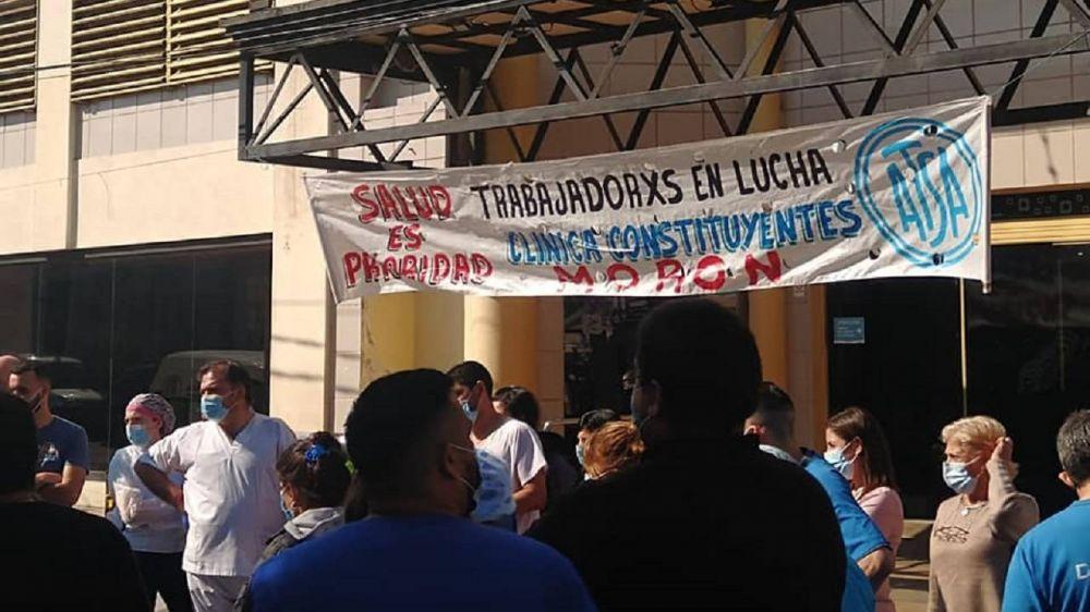 Clínica Constituyentes: Nuevo paro y corte de calle por reclamo salarial