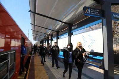 Con la habilitación de Munro, Trenes Argentinos Infraestructura suma otra estación modernizada en la línea Belgrano Norte